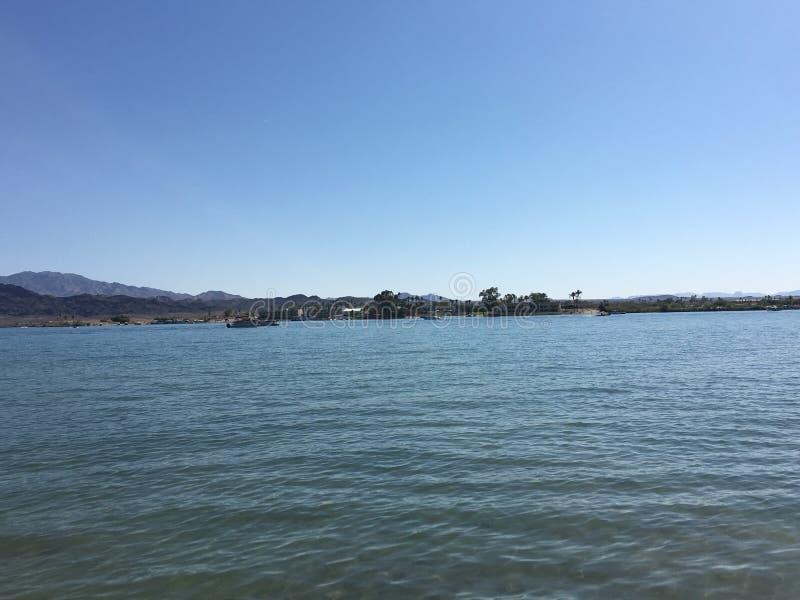Cidade de Lake Havasu, o Arizona fotos de stock royalty free
