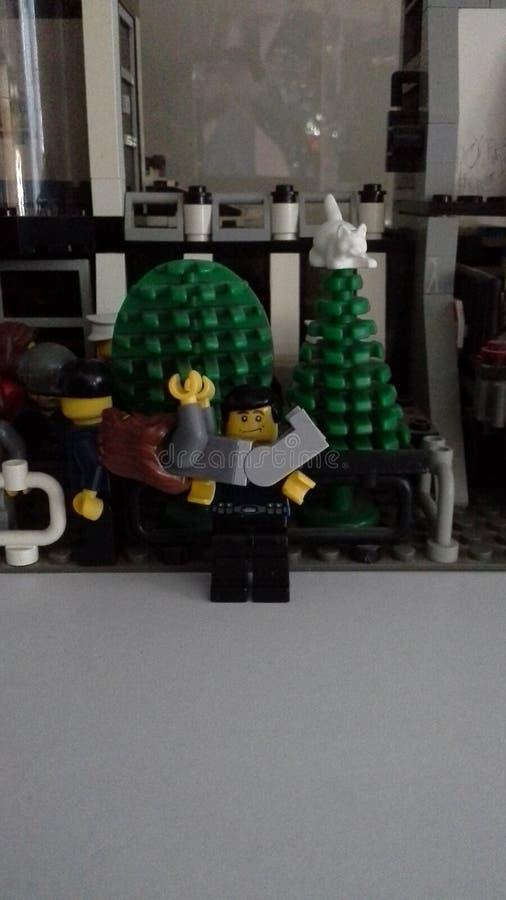 Cidade de LEGO foto de stock royalty free