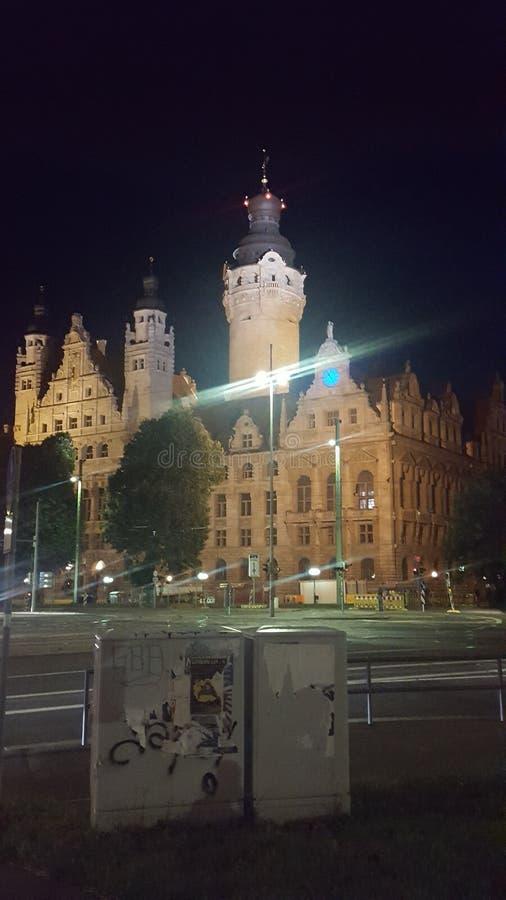 Cidade de Leipzig imagem de stock