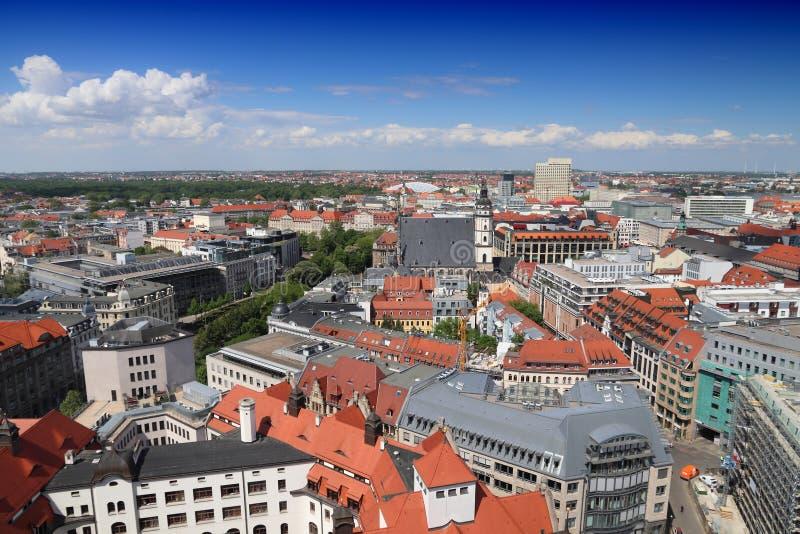 Cidade de Leipzig, Alemanha foto de stock royalty free