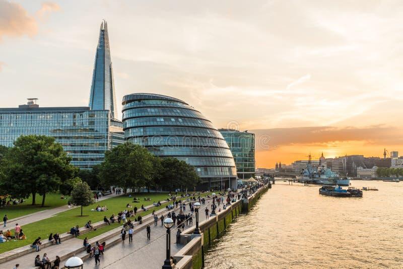 A cidade de Londres imagens de stock royalty free