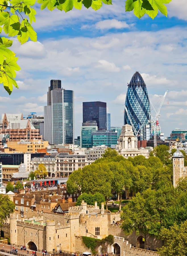 Cidade de Londres foto de stock