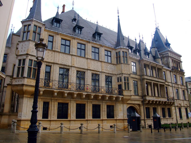 Cidade de Luxembourg Ducal grande Luwembourg do palácio