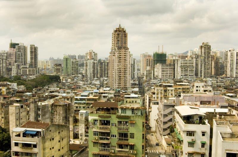 Cidade de Macau fotografia de stock royalty free