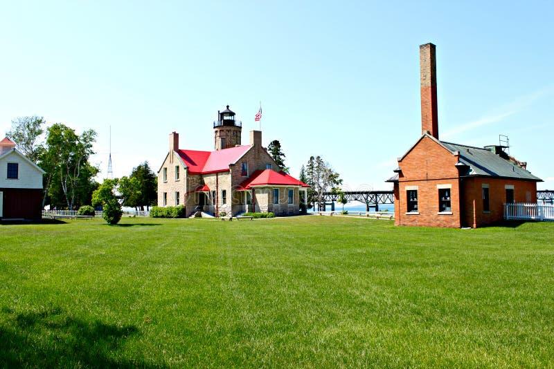 Cidade de Mackinaw foto de stock royalty free