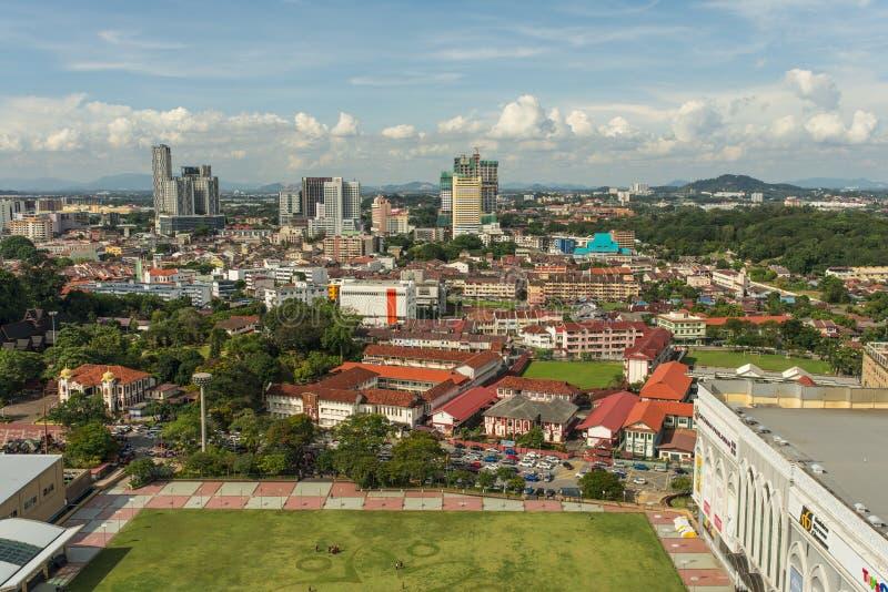 Cidade de Malacca imagens de stock