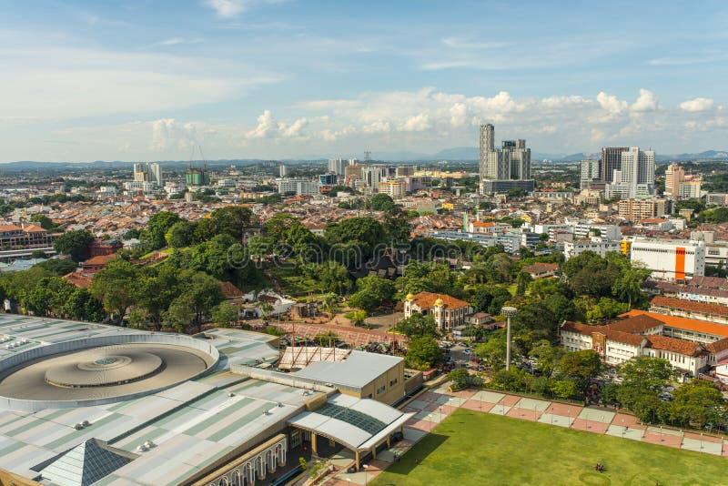 Cidade de Malacca fotos de stock