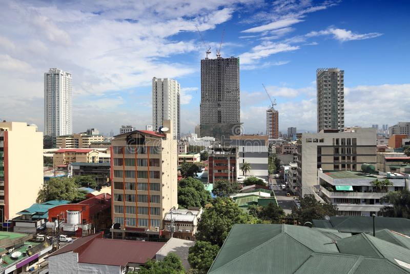 Cidade de Manila fotos de stock