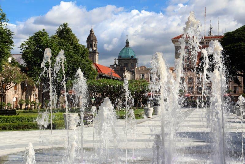 Cidade de Manila, Filipinas imagens de stock royalty free