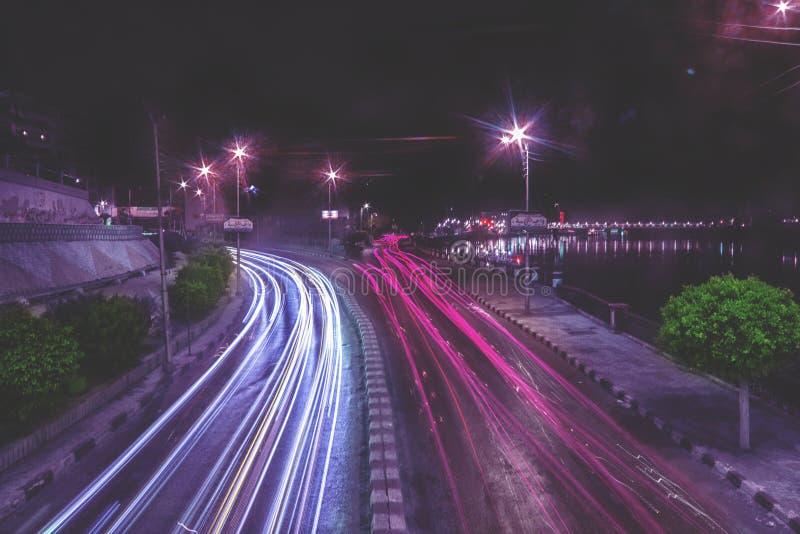 Cidade de Mansoura imagens de stock
