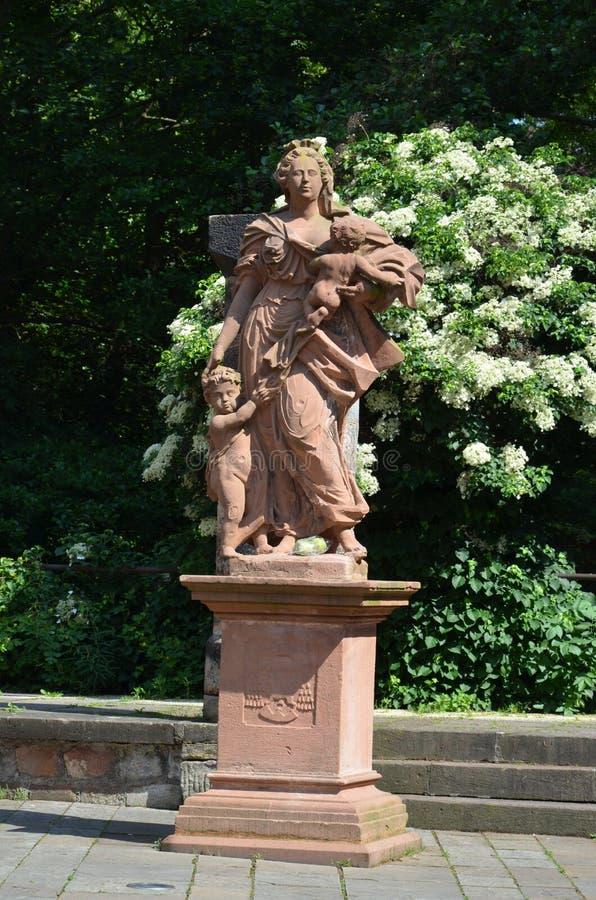 Cidade de Marburg, Alemanha imagens de stock
