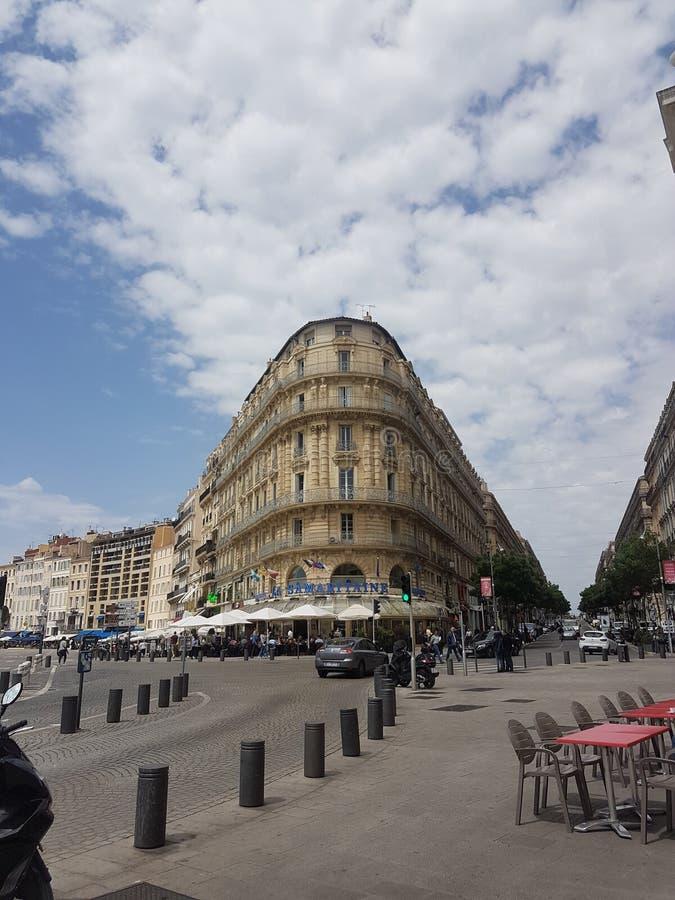 Cidade de Marselha fotos de stock royalty free