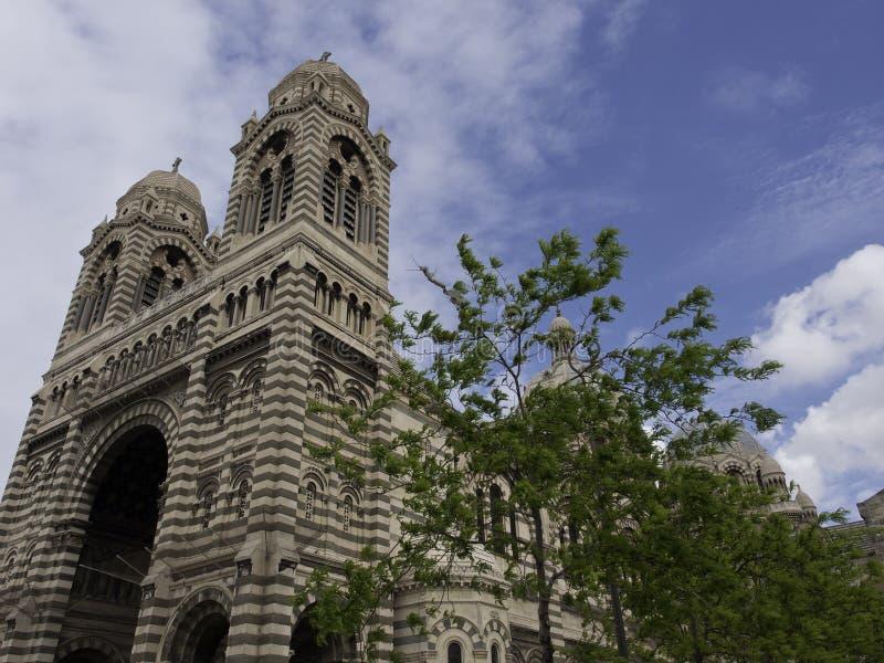 A cidade de Marselha fotos de stock