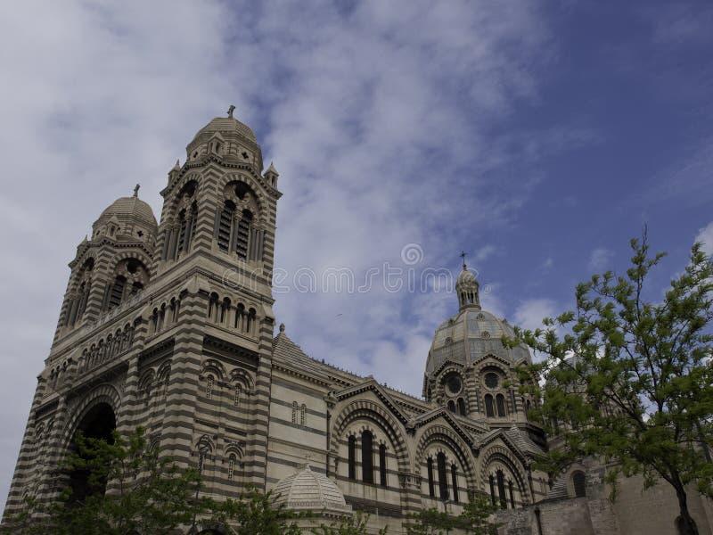 A cidade de Marselha fotografia de stock