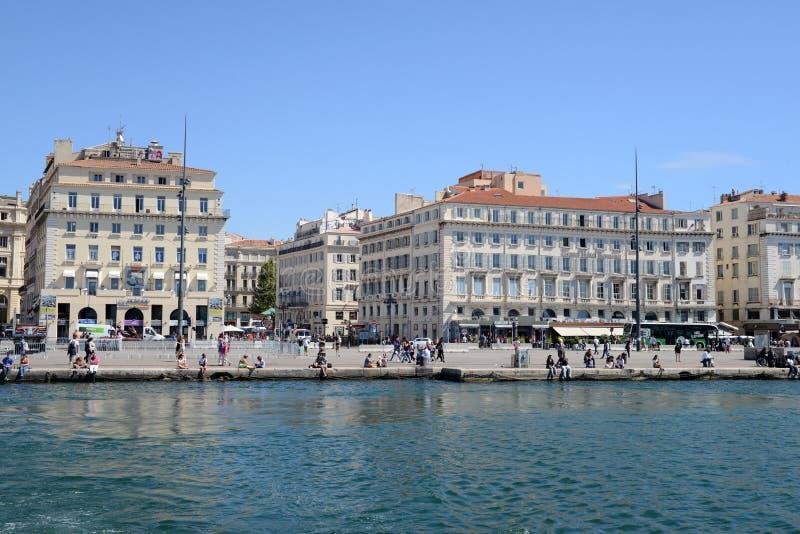 Cidade de Marselha, França fotografia de stock royalty free
