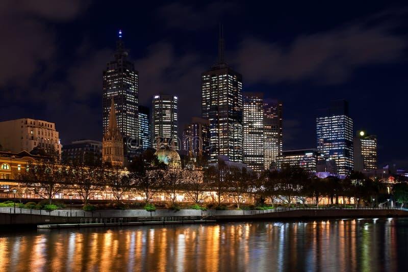 Cidade de Melbourne fotografia de stock