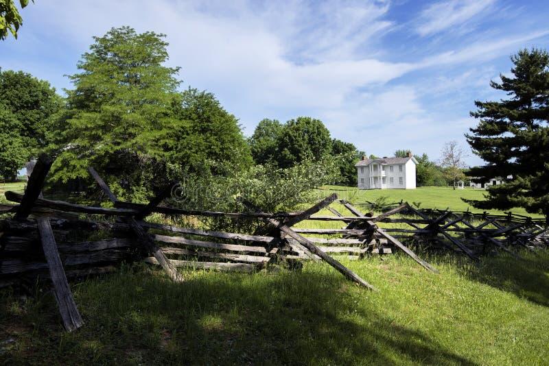 Cidade 1855 de Missouri imagens de stock