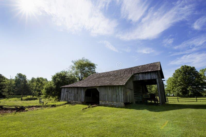 Cidade 1855 de Missouri foto de stock royalty free