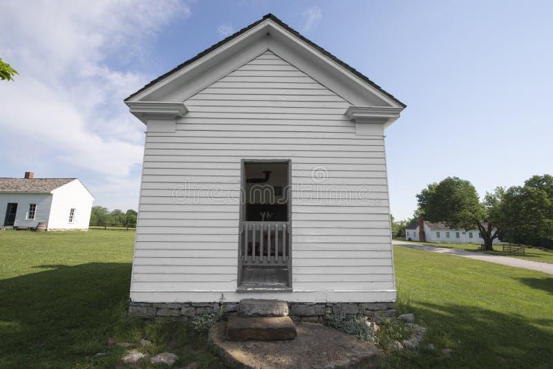 Cidade 1855 de Missouri foto de stock