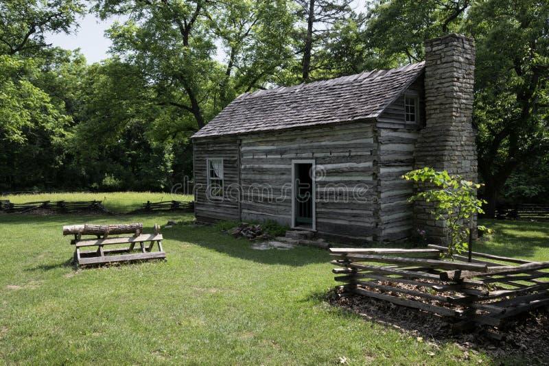 Cidade 1855 de Missouri imagem de stock