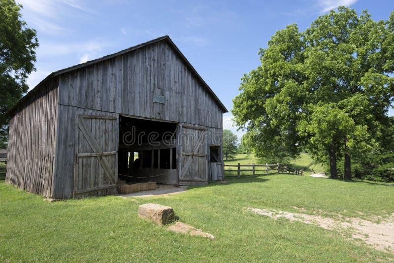 Cidade 1855 de Missouri imagens de stock royalty free