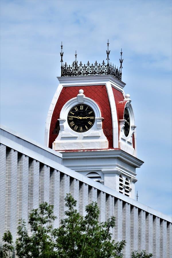 Cidade de Montpelier, capital de estado, Washington County, Vermont Nova Inglaterra Estados Unidos, capital de estado fotografia de stock