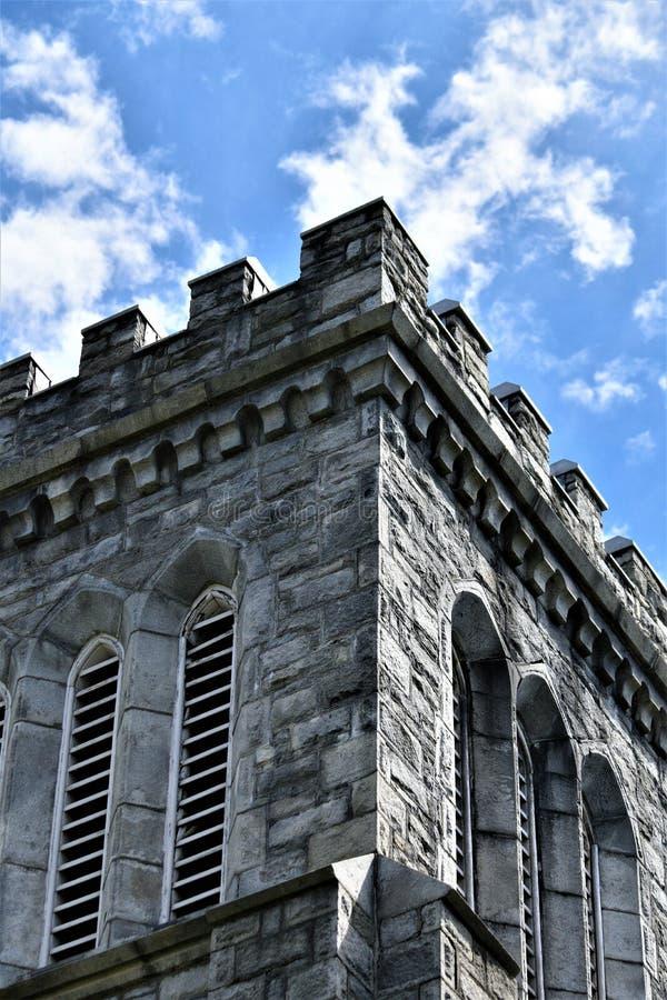 Cidade de Montpelier, capital de estado, Washington County, Vermont Nova Inglaterra Estados Unidos, capital de estado imagens de stock