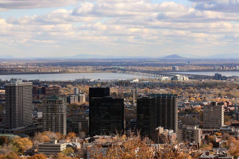 Cidade de Montreal imagem de stock royalty free