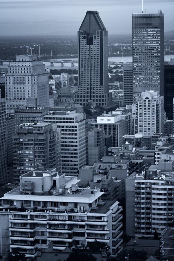 Cidade de Montreal imagens de stock royalty free