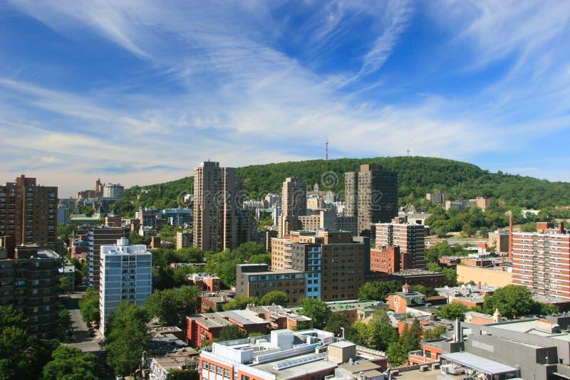 Cidade de Montreal imagens de stock