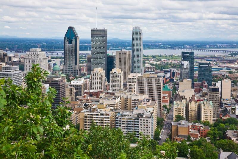 Cidade de Montreal fotos de stock royalty free