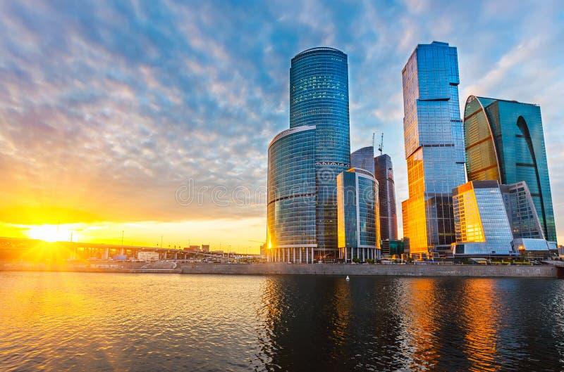 Cidade de Moscou foto de stock royalty free