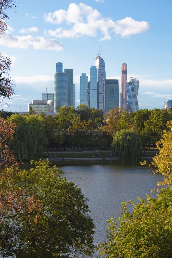Cidade de Moscovo imagem de stock royalty free