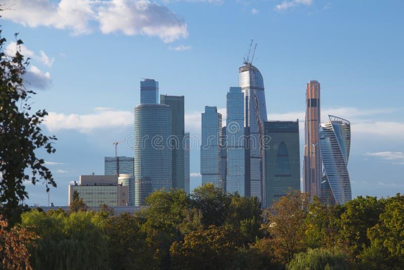 Cidade de Moscovo fotos de stock royalty free