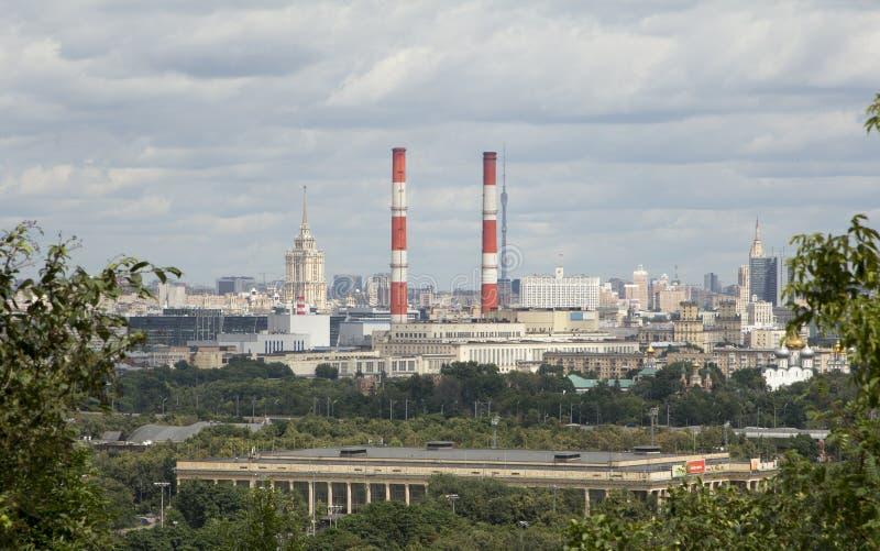 Cidade de Moscovo fotografia de stock royalty free
