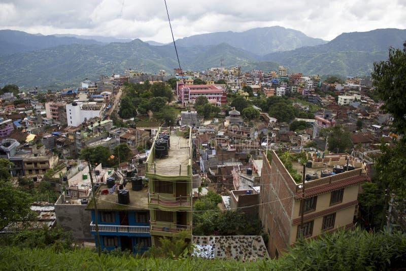 Cidade de Nepal Tansen fotos de stock royalty free