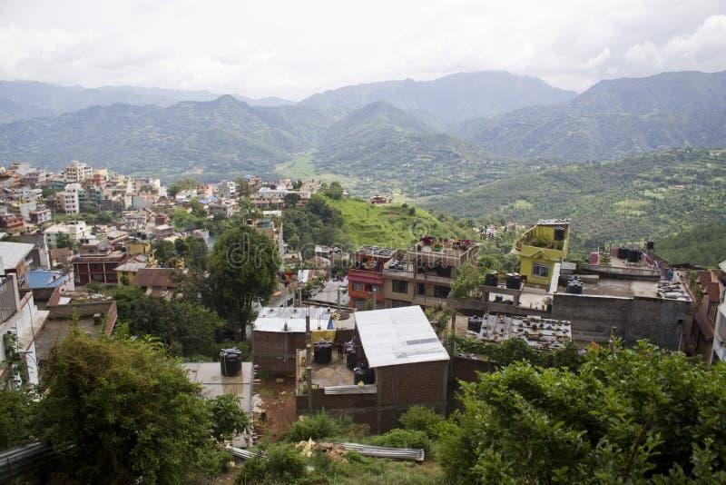 Cidade de Nepal Tansen imagens de stock