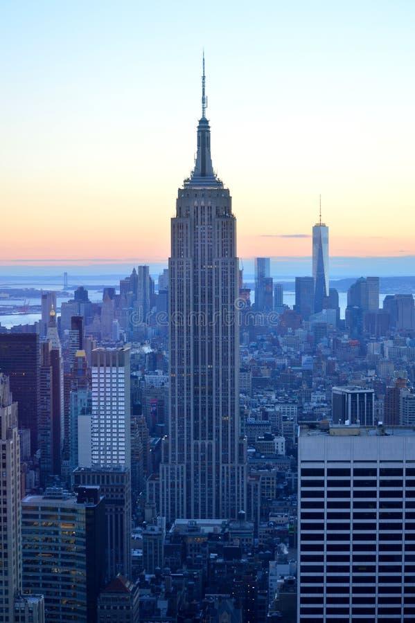 Cidade de New York fotografia de stock