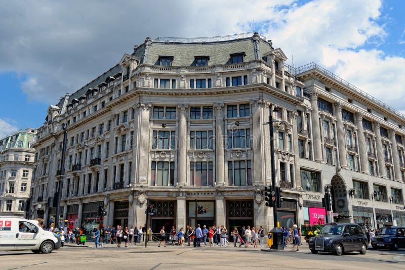 Cidade de Nike, Londres, Reino Unido foto de stock royalty free