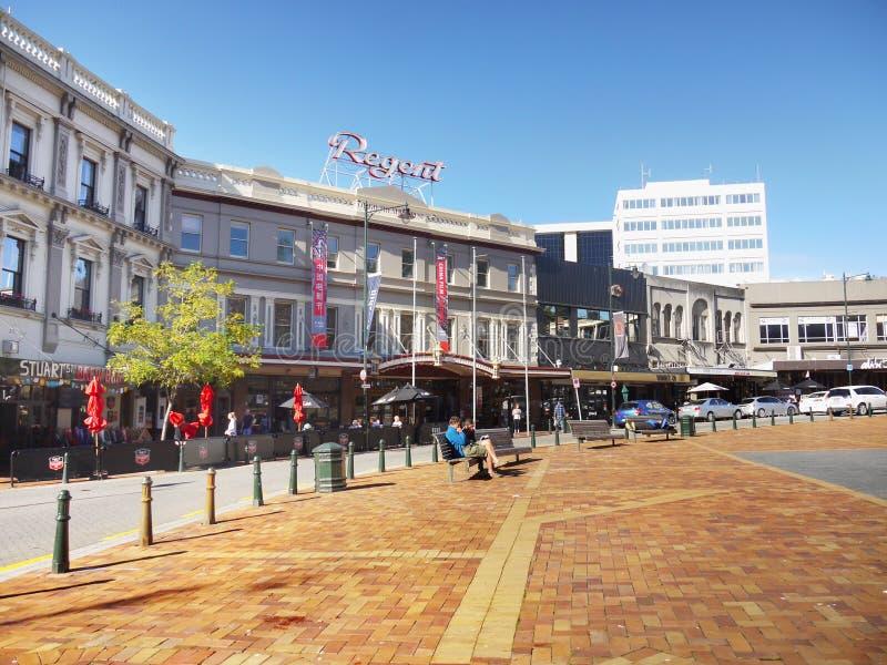 Cidade de Nova Zelândia, Dunedin foto de stock