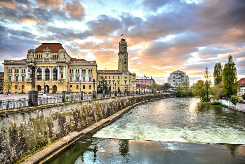 Cidade de Oradea, Romênia fotografia de stock royalty free
