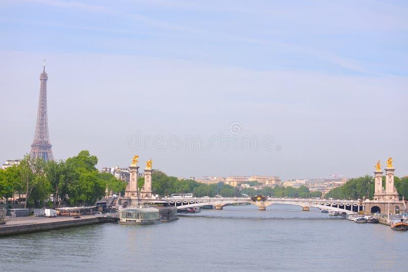 Cidade de Paris, França imagens de stock royalty free