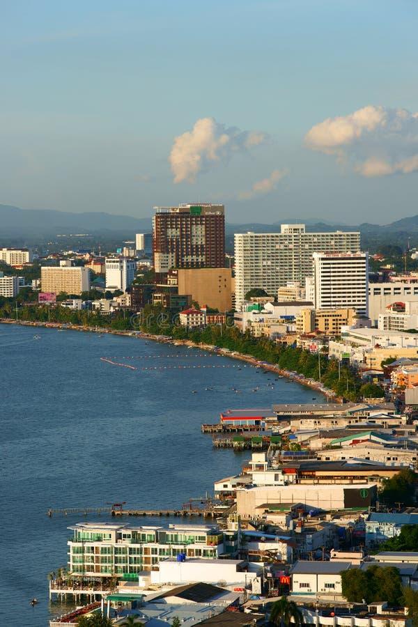 Cidade de Pattaya imagem de stock