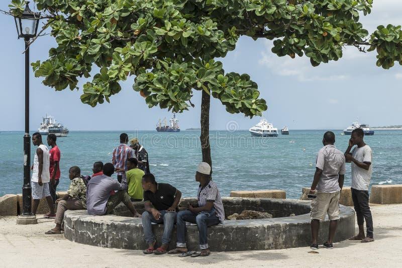 Cidade de pedra, Zanzibar fotos de stock