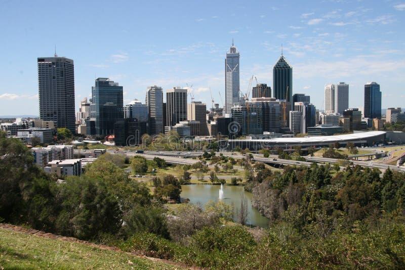 Cidade de Perth foto de stock royalty free