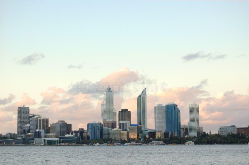Cidade de Perth fotografia de stock royalty free