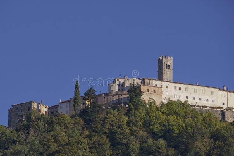 Cidade de Pictureque de Motovun fotos de stock royalty free