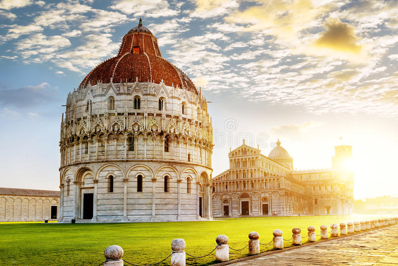 Cidade de Pisa fotos de stock royalty free