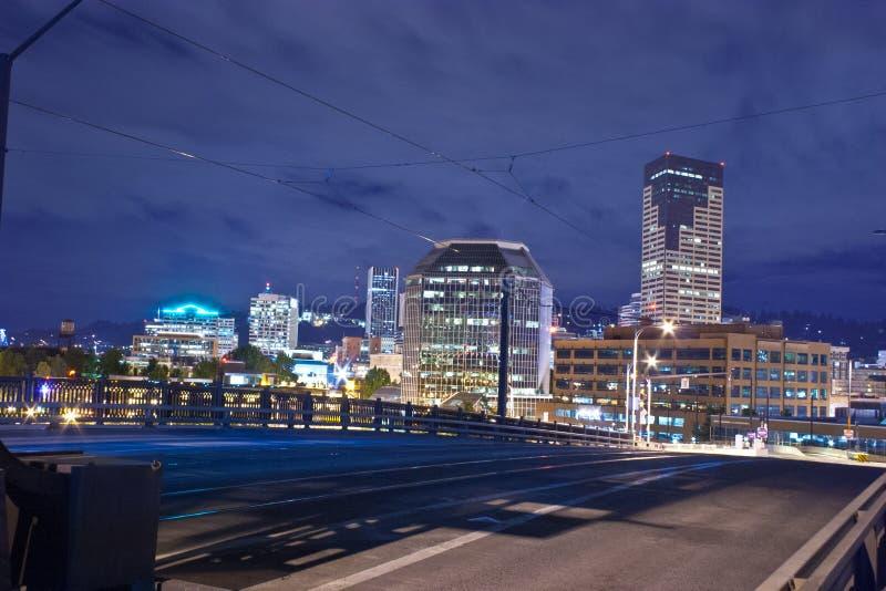 Cidade de Portland fotos de stock royalty free
