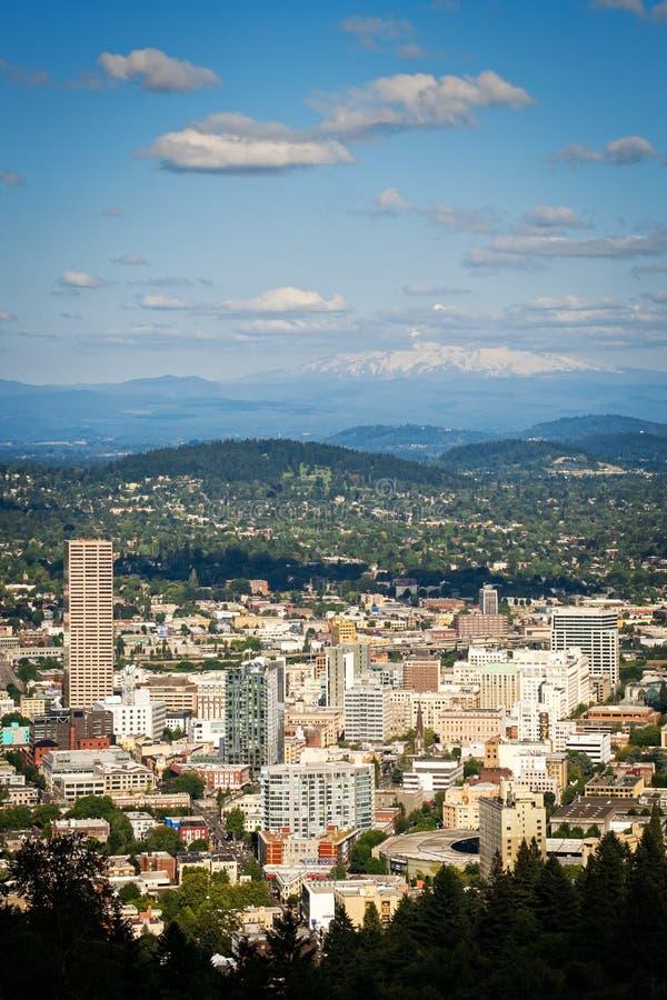 Cidade de Portland Oregon imagens de stock